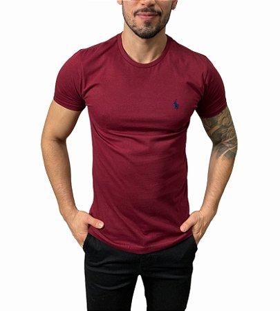 Camiseta Ralph Lauren Básica Marsala