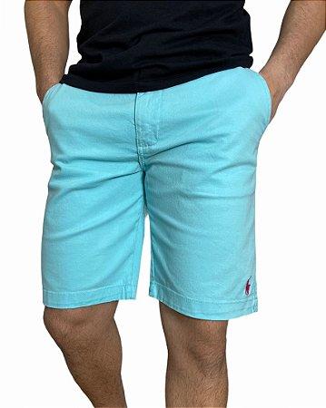Bermuda Sarja Ralph Lauren Azul