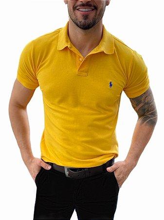 Camisa Polo Ralph Lauren Amarela