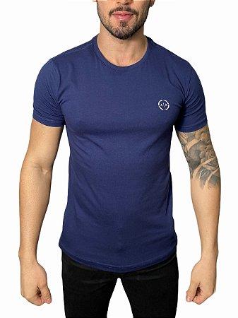 Camiseta Armani Exchange Logo Marinho