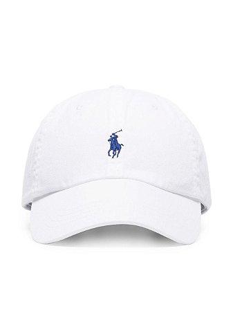 Boné Polo Ralph Lauren Classic Branco