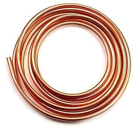 tubo de cobre maleável