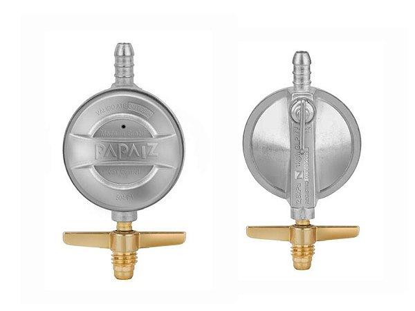 Regulador De Gás 1kg/h Papaiz Gascontrol