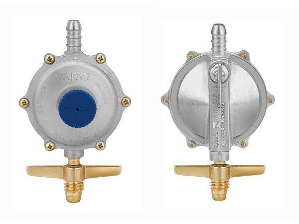 Regulador De Gás 2kg/h Papaiz Gascontrol