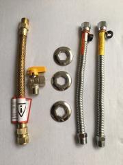 Kit para Instalação de Aquecedor de Gás - 30cm