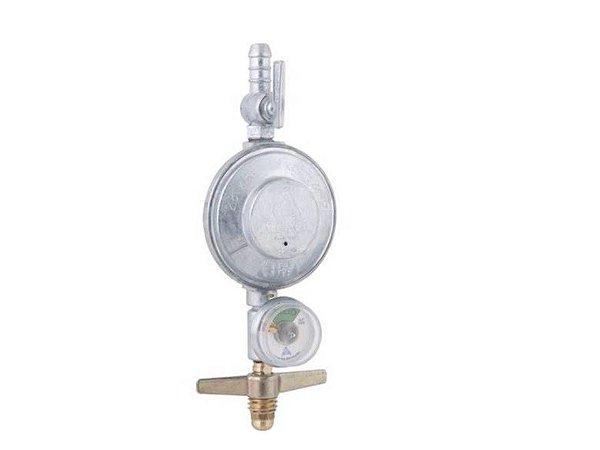 Regulador de Gás Aliança  504/01 com Manômetro