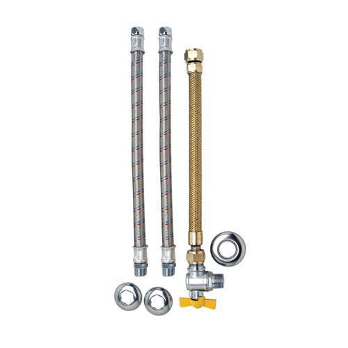 Kit para Instalação de Aquecedor de Gás - 40cm