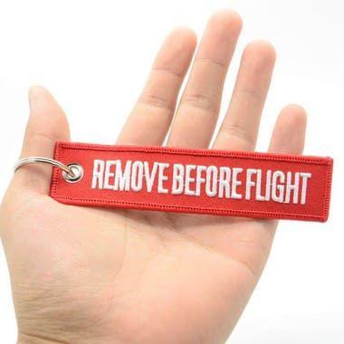 Chaveiro Remove Before Flight