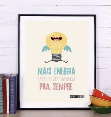 Pôster Mais Energia