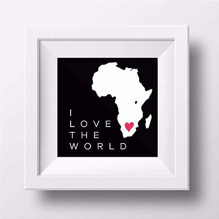Pôster I love the World - África