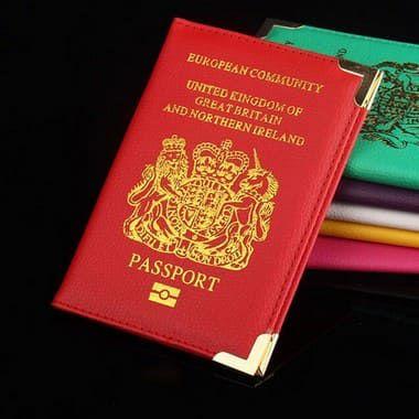Porta Passaporte Viajante - United Kingdom - Inglaterra