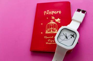 Relógio Go! Coração Viajante