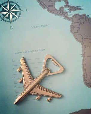 Abridor de Garrafas - Avião