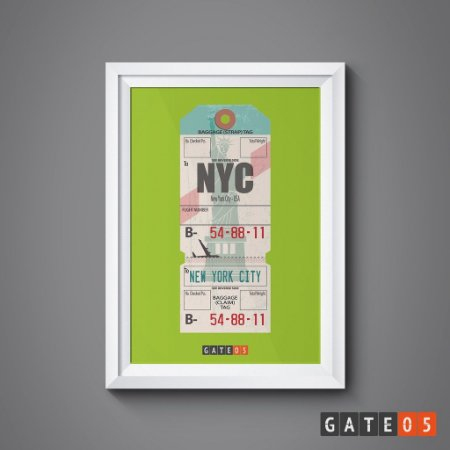 Pôster Tickets Worldwide - New York
