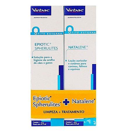 Kit Epiotic 25 ml + Natalene 25 ml Virbac
