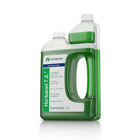 Desinfetante  Herbal Vet TA  Ouro Fino - 1 Litro