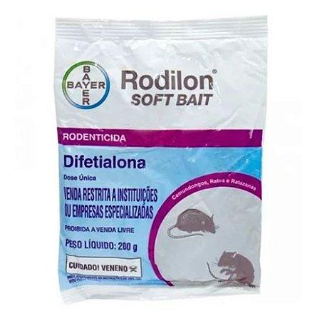 Raticída da Bayer Rodilon Soft Bait - Pc 200 gr
