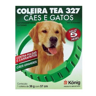 Coleira Antipulgas E Carrapatos Tea 327 G 57cm Para Cães