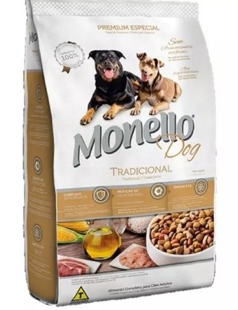 Ração Monello Dog Tradicional 15 kg