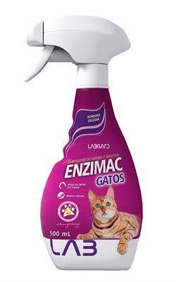 Eliminador de Odores e Manchas EnziMac Gatos 500ml - Labgard