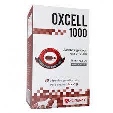 Suplemento Avert Cães Gatos Oxcell 1000 - 30 Cápsulas