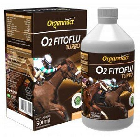 Suplemento Para Cavalos O2 Fitoflu Turbo Organnact - 500ml