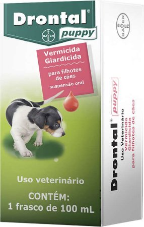 Vermifugo Bayer Para Cães Drontal Puppy - 100ml