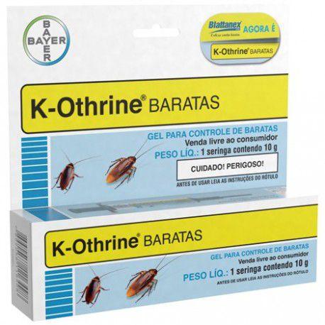 K-Othrine Gel Mata Baratas 10 g - Kotrine Bayer