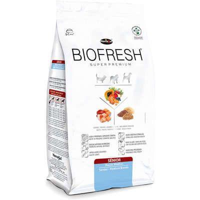 Ração Biofresh Senior Raças Médias 12 kg