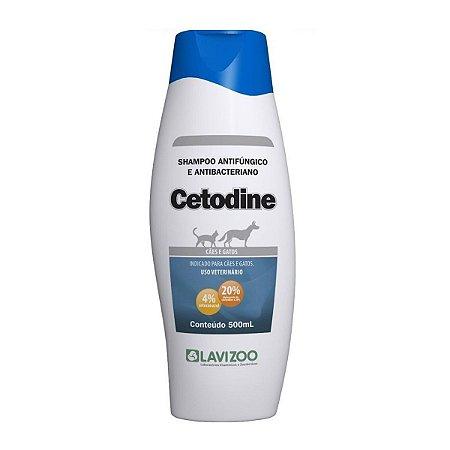 Shampoo Cetodine Lavizoo 500ml