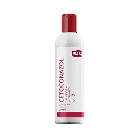 Shampoo Antifúngico Ibasa Cetoconazol Para Cães e Gatos 200ml