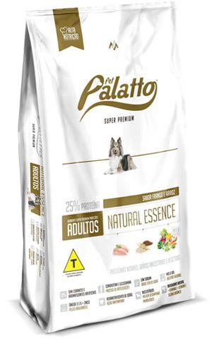 Ração Super Premium Pet Palatto Natural Essence 15kg  - Brinde 1 Colchonete Exclusivo