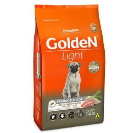 Ração Golden Formula Cães Adultos Light Mini Bits Frango e Arroz