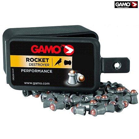 Chumbinho Gamo Rocket Destructor 5.5mm - Caixa 100 Un