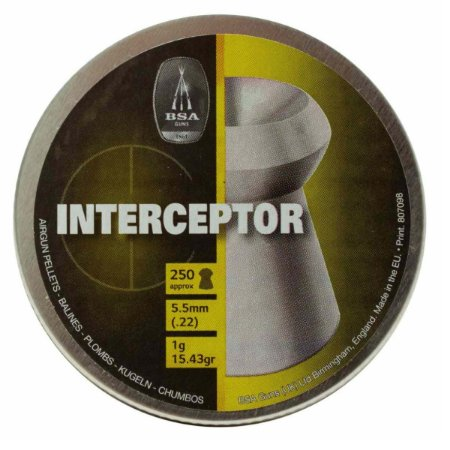 Chumbinho Gamo Interceptor 5.5mm 250un