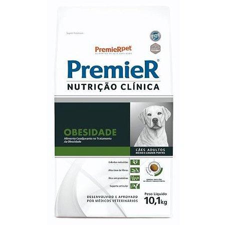 Premier Nutrição Clínica Obesidade para Cães Adultos Raças Médias e Grandes 10,1kg