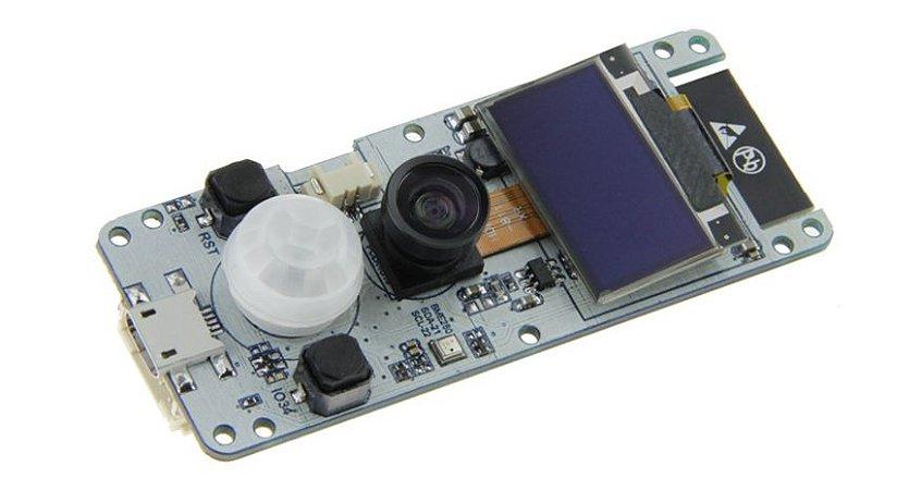 TTGO ESP32 Wrover Camera Oled
