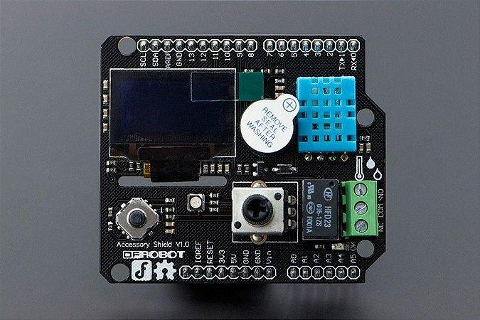 Display LCD Oled, sensor temperatura