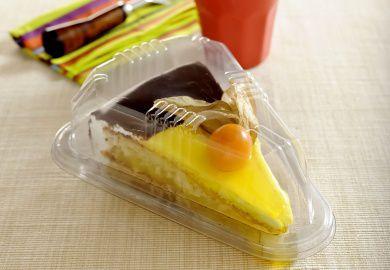 Embalagem fatia de torta caixa com 300 unidades - G 630 - Galvanotek