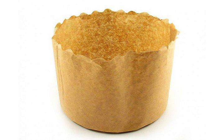 Forma de papel para panetone pacote com 50 unidades - 400 gramas - Petropel