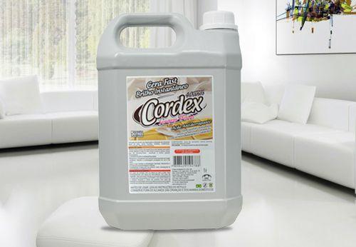 Cera fast incolor - 5l - Cordex