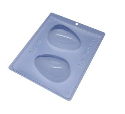 Forma especial com silicone ovo de páscoa 100g - Ref 48 - BWB
