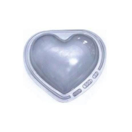 Forma especial com silicone ovo de páscoa coração unidade - 1kg - Ref 47 - BWB