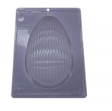 Forma especial com silicone ovo de páscoa ondas unidade - 500g - Ref 9334 - BWB