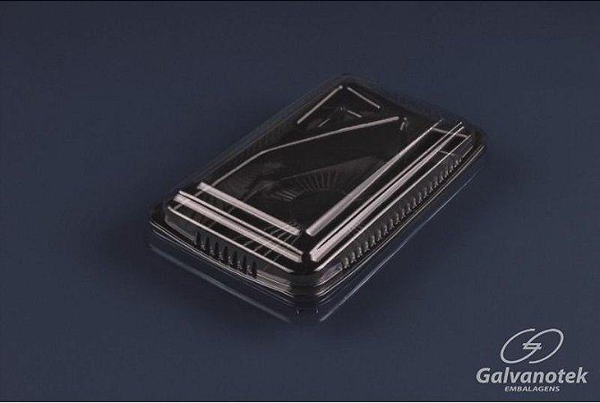 Embalagem para temaki - Galvanotek GO 908 - caixa com 100 Unidades