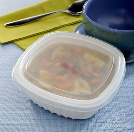 Embalagem Pote Para Freezer E Microondas - Galvanotek G 308 - 400 Ml - caixa com 300 Unidades