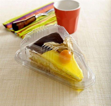 Embalagem fatia de torta pacote com 25 unidades - G 630 - Galvanotek