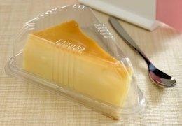 Embalagem para mini fatia de torta ou bolo pacote com 10 unidades - G 635 - Galvanotek