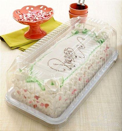 Embalagem para bolo / torta / baguete 2kgs caixa com 50 unidades - G65M - Galvanotek