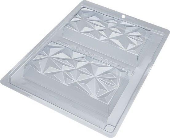 Forma especial tablete triangulo  250g - Ref 9911 - BWB